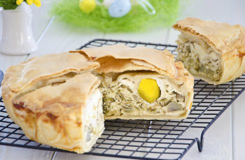 Torta pasqualina ai carciofi: per Pasqua