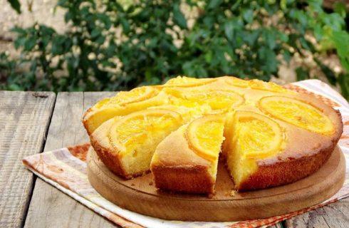 Torta rovesciata all'arancia di Detto Fatto