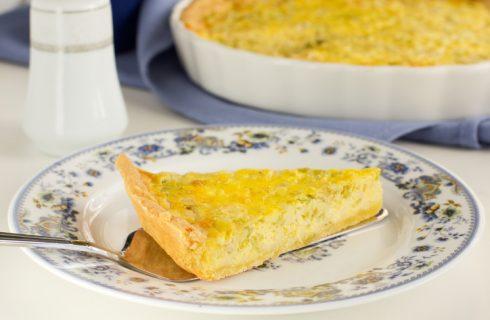 Torta salata al cavolfiore e feta di Cotto e Mangiato