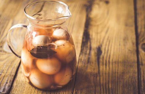 Uova in conserva, la ricetta da fare in casa