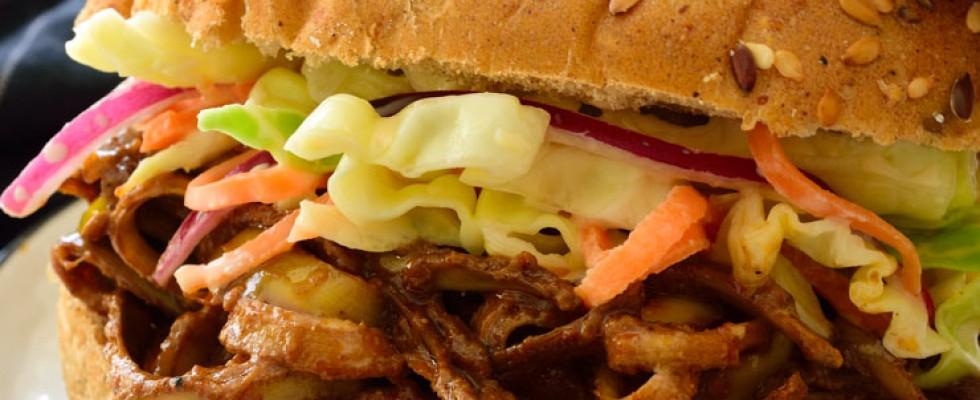 I vegani amano il pulled pork (di bucce di banana)