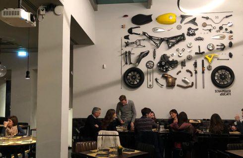 Scrambler Ducati Food Factory, Bologna