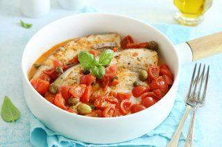 Pesce spada alla pizzaiola: secondo di pesce