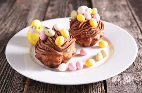 Muffin pasquali al cioccolato, la ricetta golosa