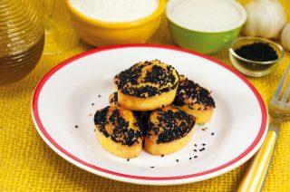 Muffin fontina e speck