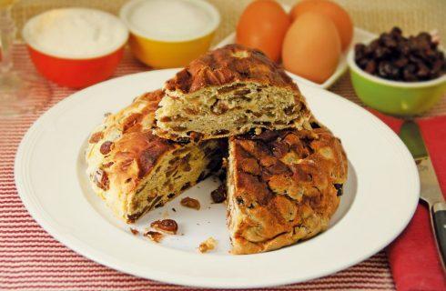 Pane con l'uvetta: per le feste