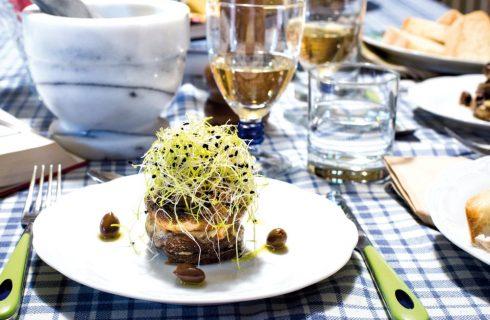Parmigiana di champignon e olive