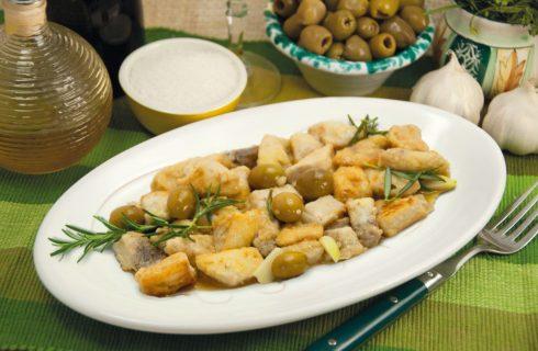 Pesce spada con le olive