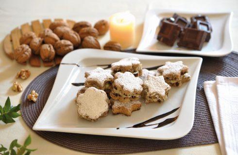 Biscotti con cioccolato e noci