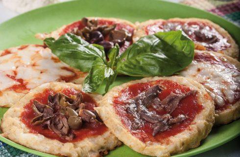 Pizzette di cavolfiore con le alici