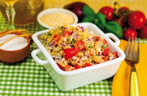Quinoa con verdure fresche