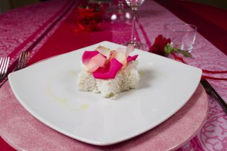 Risotto alle rose