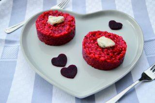 Risotto rosso con gorgonzola al bimby