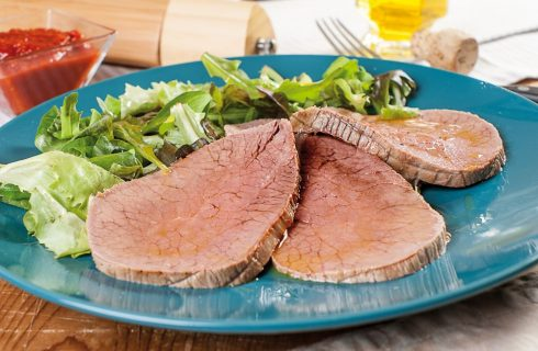 Roast-Beef con salsa barbecue facile