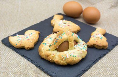 Scarcelle di Pasqua col Bimby, la ricetta facile