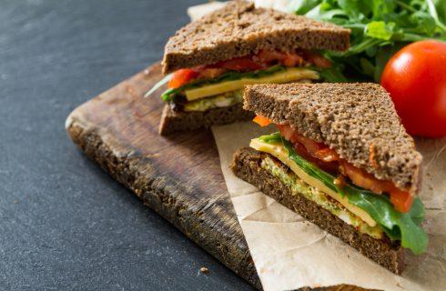 6 tramezzini vegetariani da portare in viaggio
