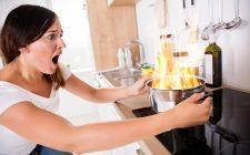 Pericolo! 8 errori da evitare in cucina