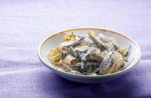 La ricetta delle tagliatelle ai carciofi della Prova del cuoco