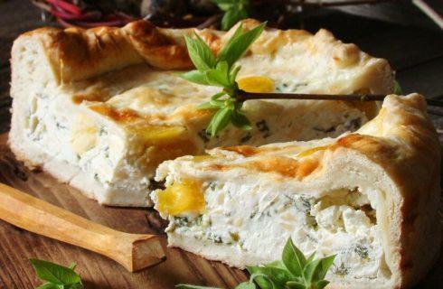 Torta pasqualina senza spinaci, la ricetta facile