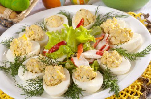 Uova farcite per Pasqua, la ricetta facile e veloce