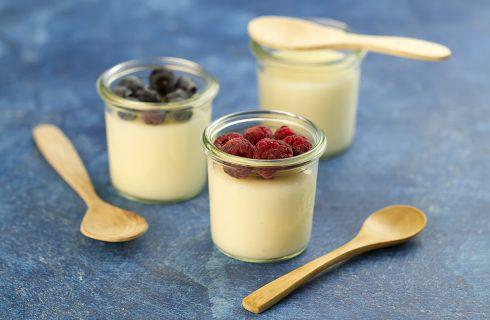 Budino al latte: leggero e adatto per la merenda