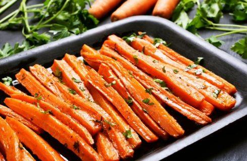 La ricetta delle carote al forno di Marco Bianchi
