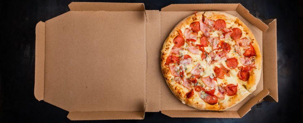 Sequestrati 25.000 cartoni da pizza per sostanze tossiche