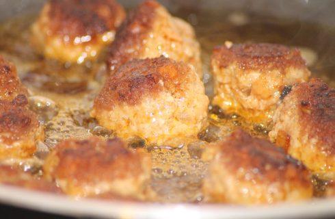 Come riscaldare le polpette di carne