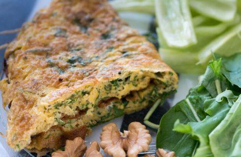Frittata di borragine, la ricetta vegan