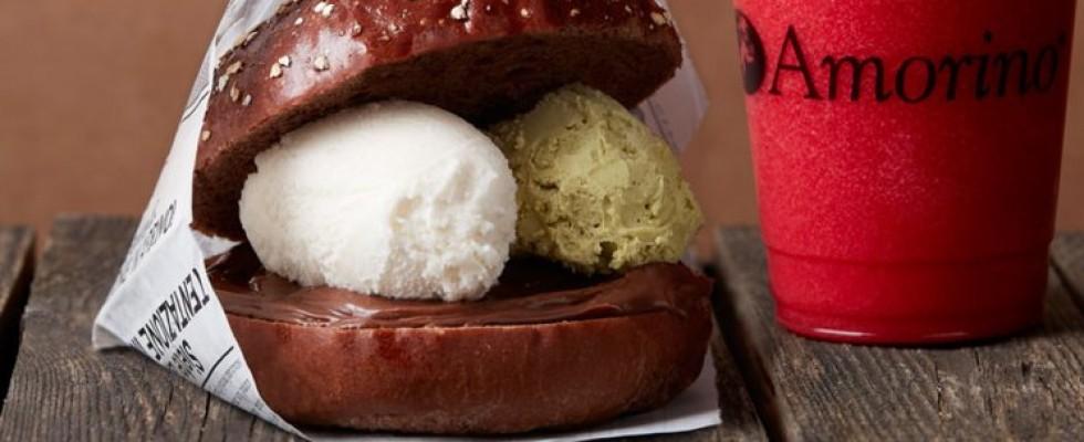 Mangereste un Gelato Burger? Lo servono a NY