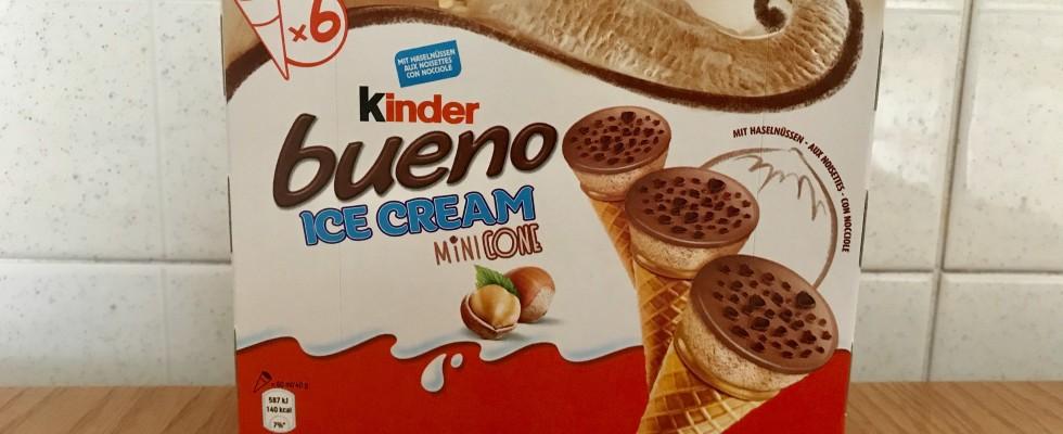 Mangiato da noi: Kinder Bueno Ice Cream