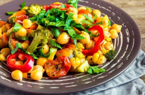 La ricetta dell'insalata di ceci light