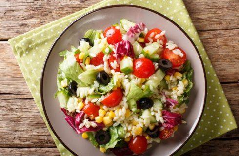 Insalata di riso mediterranea, la ricetta sfiziosa