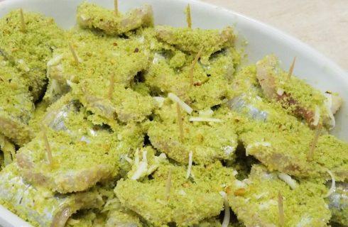 La ricetta degli involtini di pesce spada al pistacchio