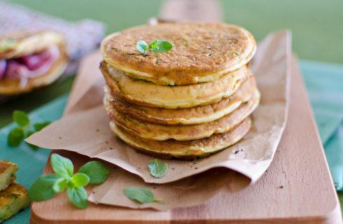 Pancake alle zucchine: variante salata