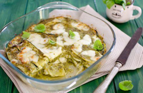 Parmigiana di zucchine e patate: versione leggera per l'estate