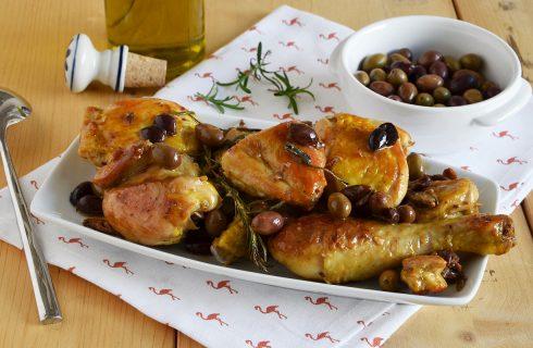 Pollo alle olive, secondo gustoso