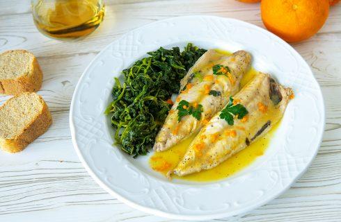 Sgombro all'arancia, secondo piatto di mare