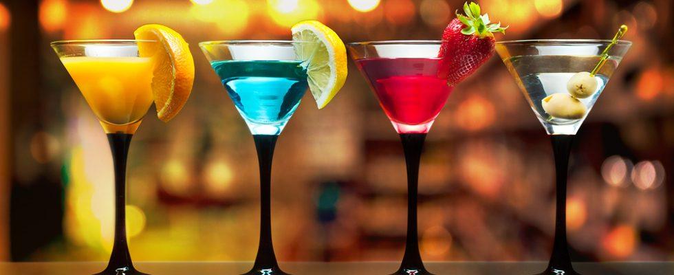 Quando il colore del cocktail rivela lo stato d'animo