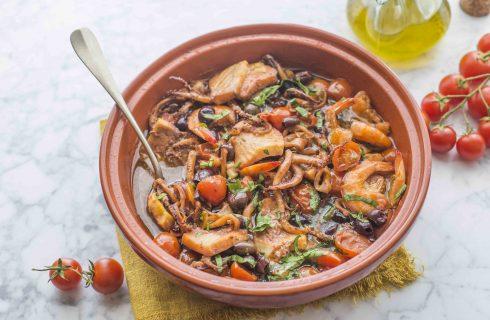 Tajine di pesce: sapore berbero