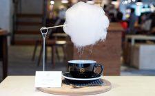 Una nuvola per rendere dolce il caffè