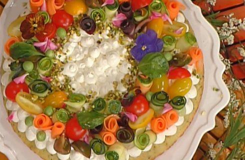 Torta salata in padella, la ricetta di Natalia Cattelani