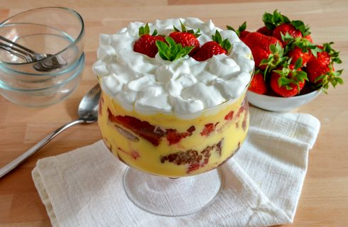 Trifle: un dolce sontuoso di origine inglese