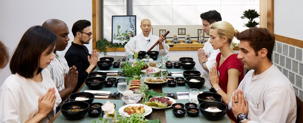 Baru Gongyang, il pasto dei monaci buddisti