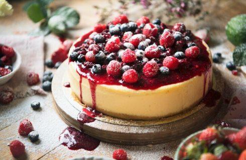 Cheesecake cotta con robiola, la ricetta della Prova del cuoco