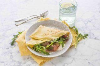 Crêpes salate fredde: primo piatto estivo