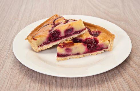 La ricetta della crostata ricotta e amarene di Benedetta Parodi