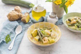Curry verde di gamberi: dalla cucina thai