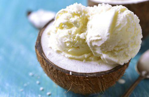 Gelato al cocco vegan, la ricetta golosa
