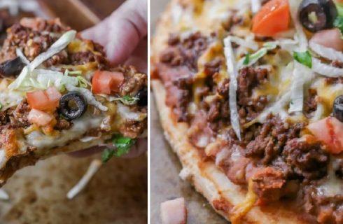 Pizza di carne: la ricetta
